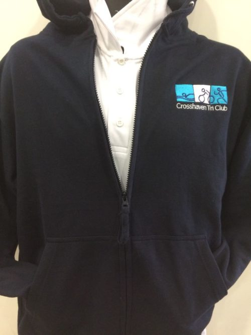 Embroidered Hoody Crosshaven Tri