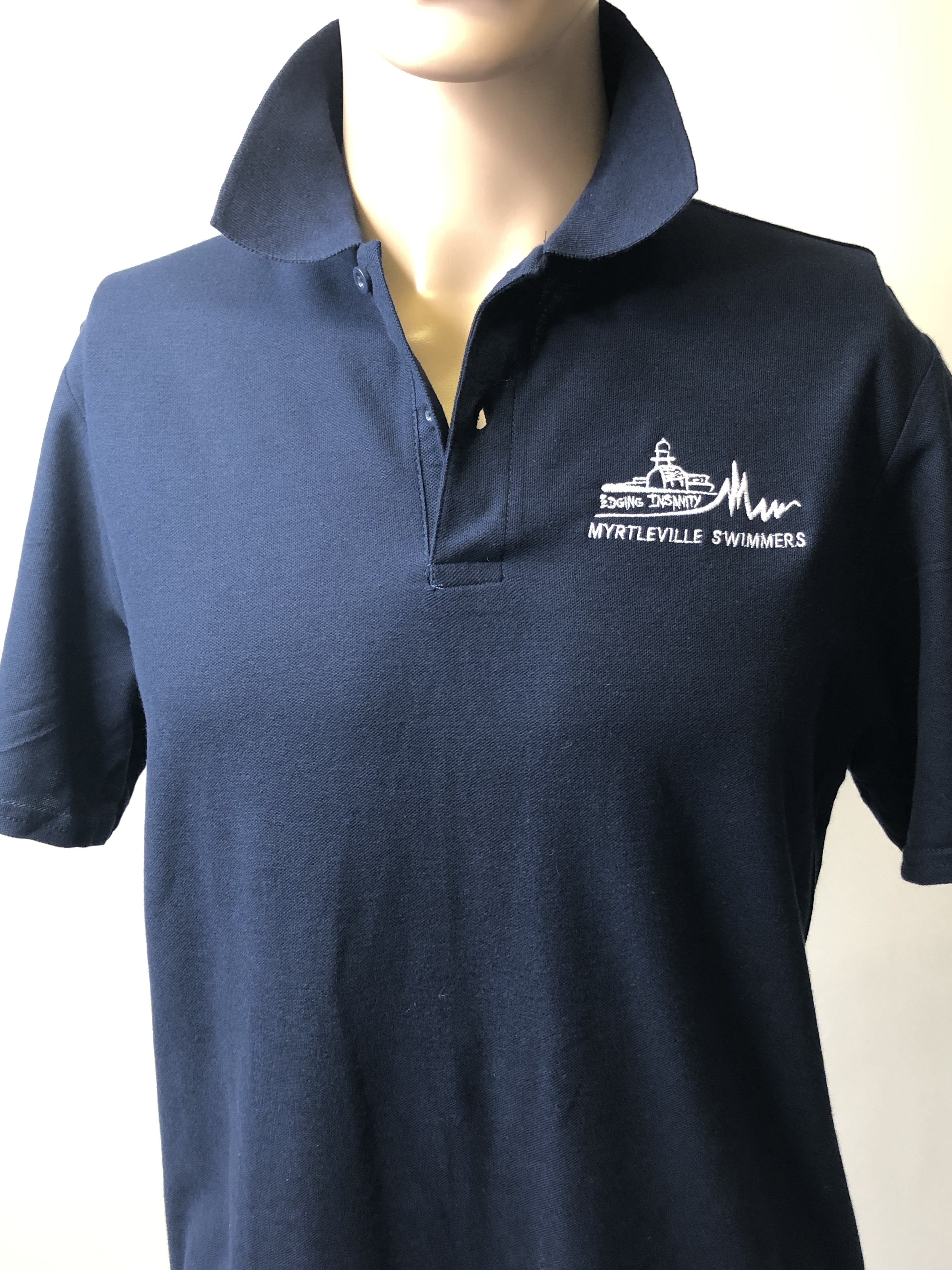 myrtleville swimmers polo shirt