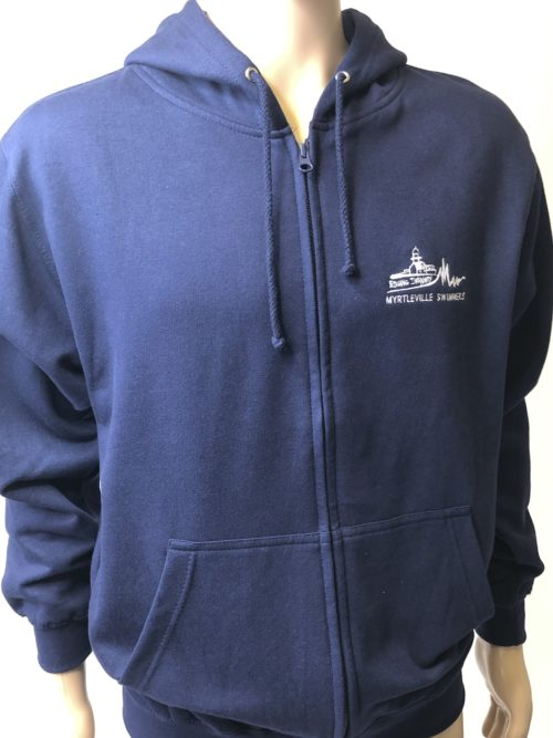 Full zip hoody myrtleville swimmers