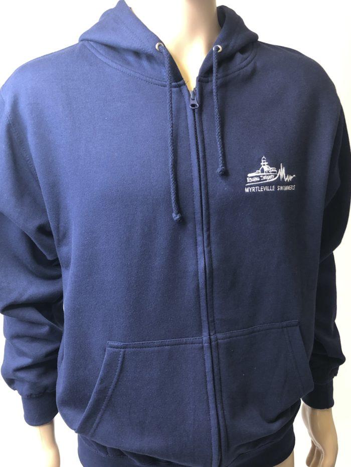 Full zip hoody myrtleville swimmers