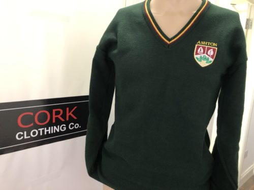 ashton school sweater