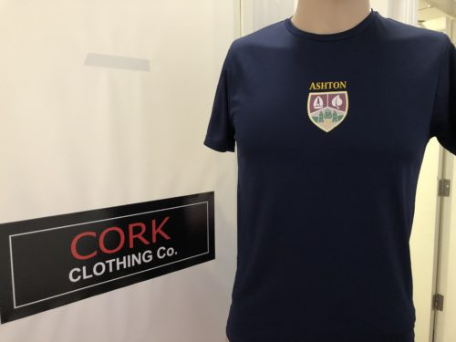 ashton school PE shirt
