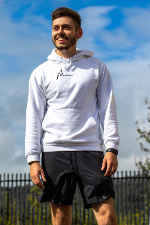 Live your Life Hoodie White